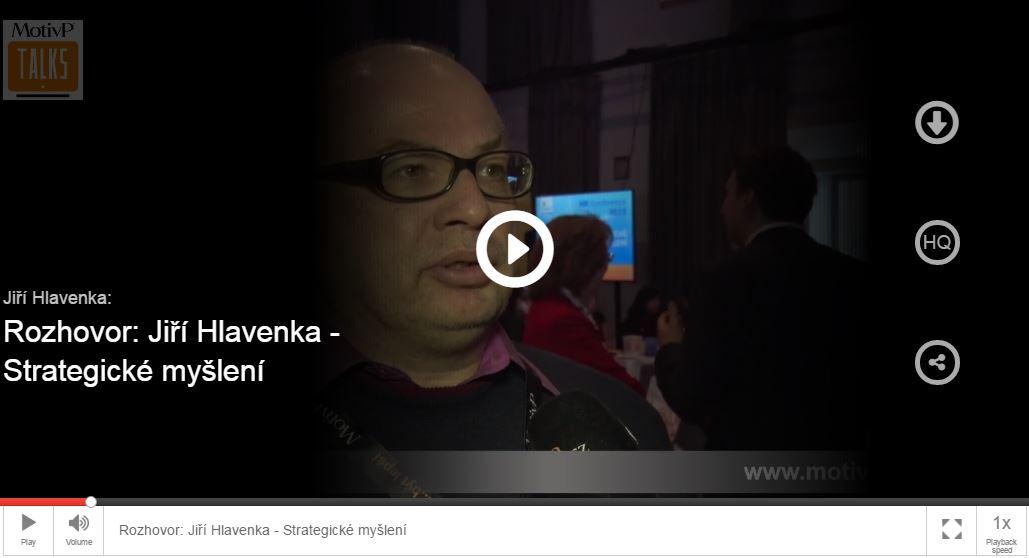 Rozhovor s Jiřím Hlavenkou